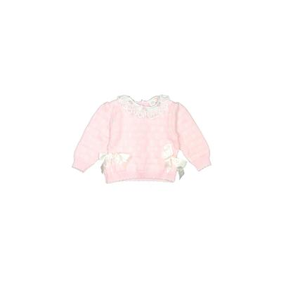 Baby Togs Pullover Sweater: Pink...