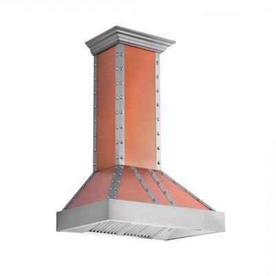 ZLINE 36 in. Designer Series Wall Mount Range Hood (655-CSSSS-36) - ZLINE Kitchen and Bath 655-CSSSS-36