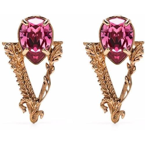 Versace Ohrringe mit Kristallen