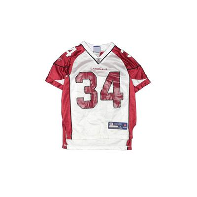 NFL Short Sleeve Jersey: Red Sporting & Activewear - Size 8