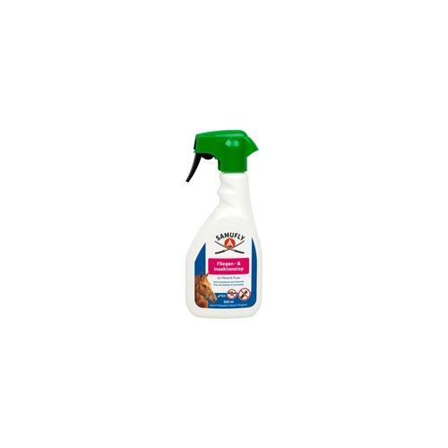 SAMUFLY Fliegen- und Insektenstop Spray für Pferde, Fliegenspray und Bremsenspray, 500ml
