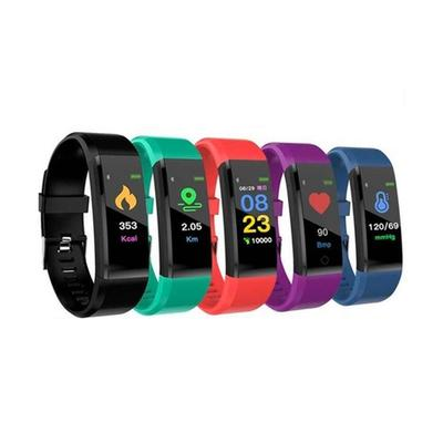 Smart Bracelet with Health Monitor: Blue/Two