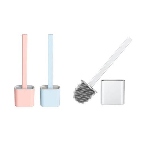 Silikon-WC-Bürste: Weiß/ 1