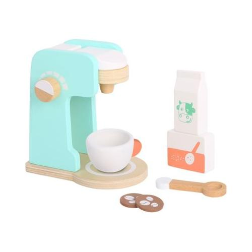 Kaffee Set aus Holz, Spielgeschirr