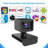 Webcam HD 1080P avec prise USB, ...