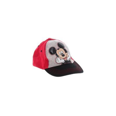 Disney Baseball Cap: Red Solid A...