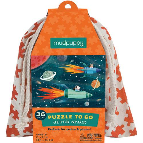 JAKO-O Puzzle to go Outer Space, bunt