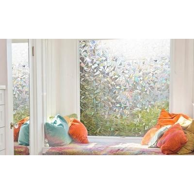 Privacy Window Film: Two/Floral