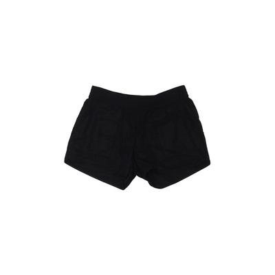Josie Shorts: Black Solid Bottom...