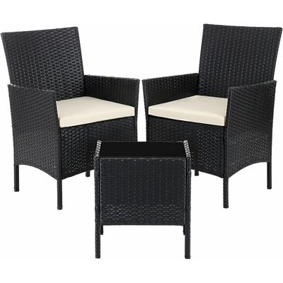 Garden Furniture Sets-3, Polyrattan Outdoor Patio Furniture, Conservatory PE Wicker Furniture, for