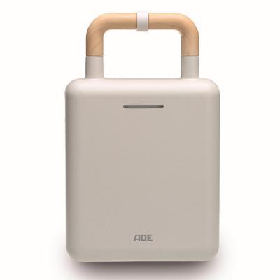 ADE 2-in-1-Kombi-Waffeleisen KG2006-1 weiß, 600 W weiß Küchenkleingeräte SOFORT LIEFERBARE Haushaltsgeräte
