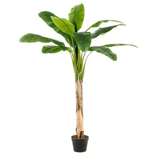 Emerald Künstlicher Bananenbaum im Topf 120 cm