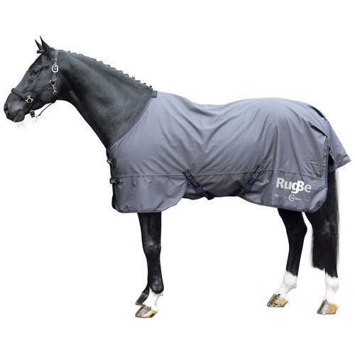Covalliero Outdoor-Pferdedecke RugBe Zero 165 cm Grau