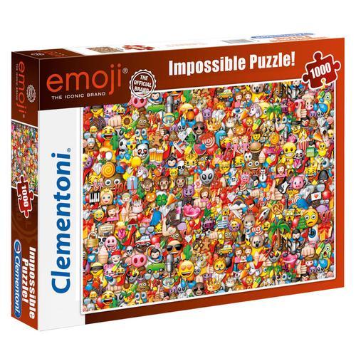Clementoni Puzzle Emoji Impossible 1000 Teile