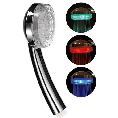 HI LED-Duschkopf 8 cm