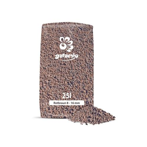 Lavamulch Rotbraun 8 - 16 mm | 40 x 25l Sack 1.000l Palette - Galamio