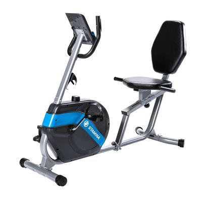 Stamina Recumbent Exercise Bike by Stamina in Blue Chrome
