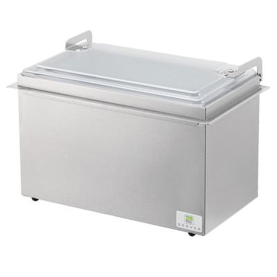 Server 67780 Insulated Server Holds (2) Sixth-Size Pans, Stainless
