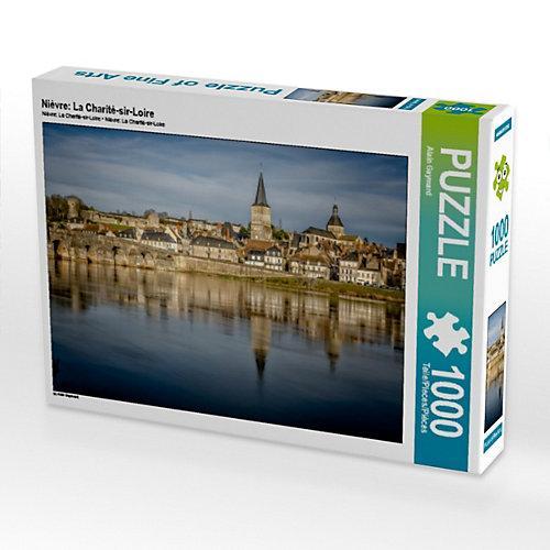 Nièvre: La Charité-sir-Loire Foto-Puzzle Bild von Alain Gaymard Puzzle