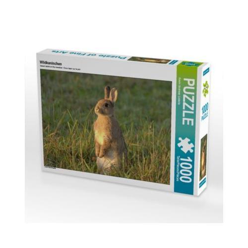 Wildkaninchen Foto-Puzzle Bild von Kevin Lederle Puzzle