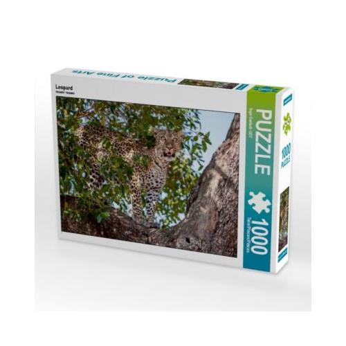 Leopard Foto-Puzzle Bild von Ingo Gerlach Puzzle