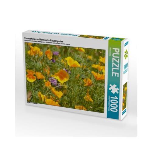Eschscholzia californica im Bauerngarten Foto-Puzzle Bild von Meike Bölts Puzzle