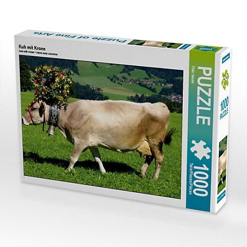 Kuh mit Krone Foto-Puzzle Bild von Thilo Seidel Puzzle