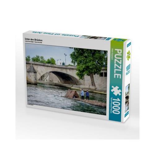 Unter den Brücken Foto-Puzzle Bild von Alain Gaymard Puzzle