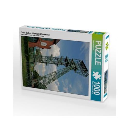 Zeche Zollern II Schacht 4 Dortmund Foto-Puzzle Bild von Hermann Koch Puzzle
