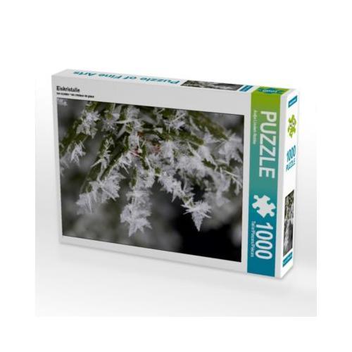 Eiskristalle Foto-Puzzle Bild von Antje Lindert-Rottke Puzzle