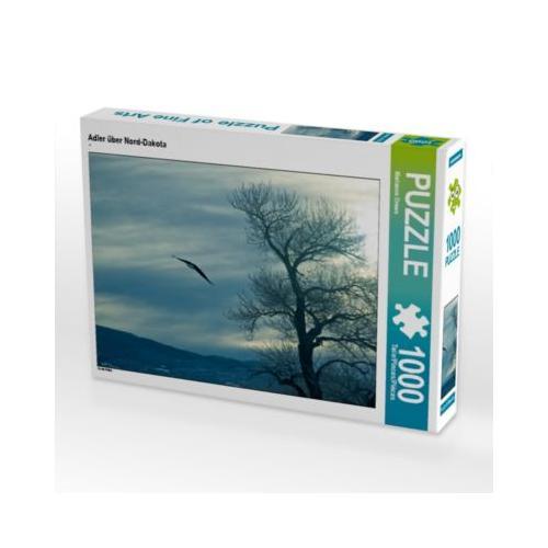 Adler über Nord-Dakota Foto-Puzzle Bild von Marianne Drews Puzzle