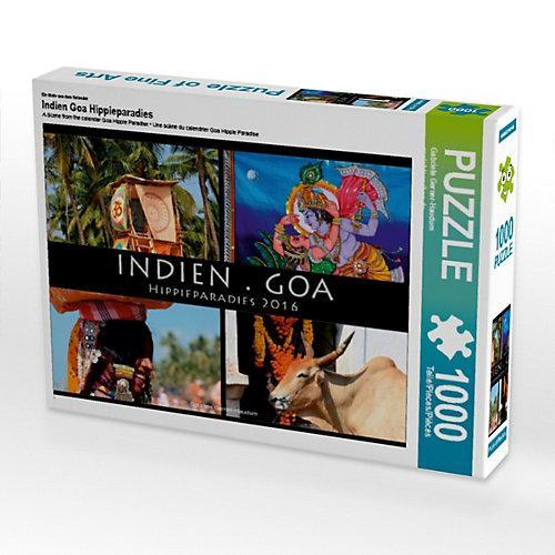 Indien Goa Hippieparadies Foto-Puzzle Bild von Gabriele Gerner-Haudum Puzzle