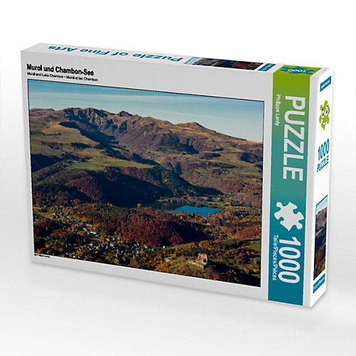 Murol und Chambon-See Foto-Puzzle Bild von Philippe Lardy Puzzle