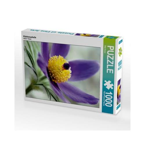 Küchenschelle Foto-Puzzle Bild von Elke Krone Puzzle
