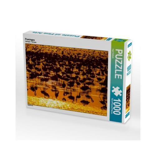 Flamingos Foto-Puzzle Bild von Ingo Gerlach Puzzle