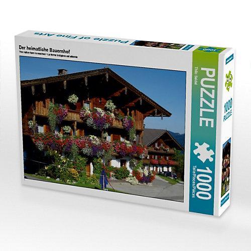 Der heimatliche Bauernhof Foto-Puzzle Bild von Thilo Seidel Puzzle