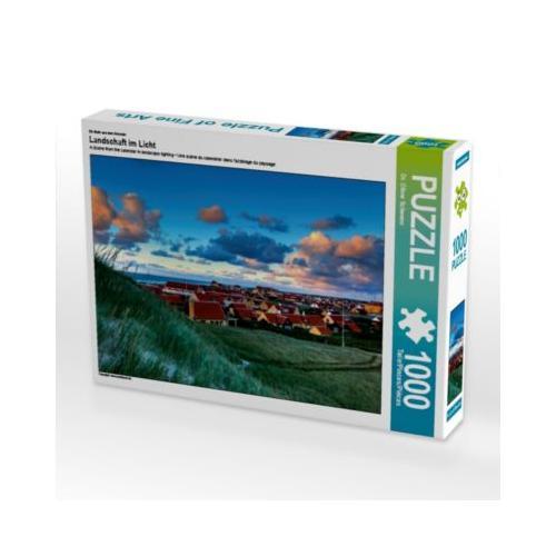 Landschaft im Licht Foto-Puzzle Bild von Oliver Schwenn Puzzle