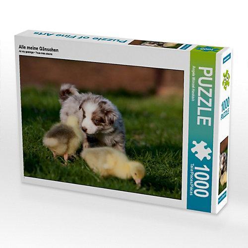 Alle meine Gänschen Foto-Puzzle Bild von Angela Münzel-Hashish Puzzle