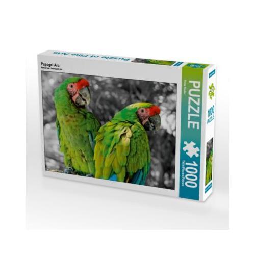 Papagei Ara Foto-Puzzle Bild von Peter Roder Puzzle