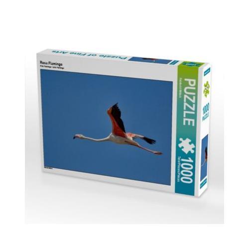 Rosa Flamingo Foto-Puzzle Bild von Reinhold Wittich Puzzle