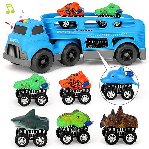 LKW Spielzeug Set blau