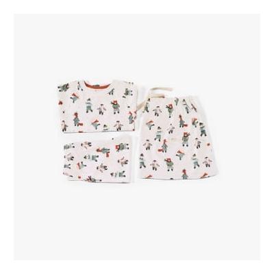 Pigeon Organics - Pyjamas In A Bag Skating Animals - 4-5 years