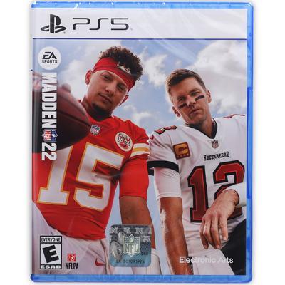 Madden NFL 22 PlayStation 5 Video Game