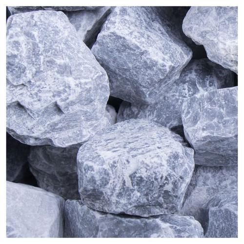 Bruchsteine Kristall Blau, 20 kg (Sack), 30-60 mm