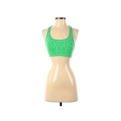 VSX Sport Sports Bra: Green Activewear - Size Small