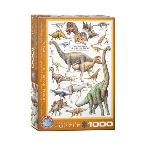 Puzzle 1000 Teile-Dinosaurier des Jura