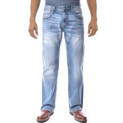 Axel Slim Boot Cut Denim Pants Light Wash Key West 38x30