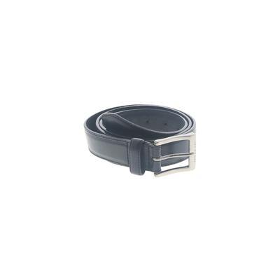 Levi's Leather Belt: Black Solid...