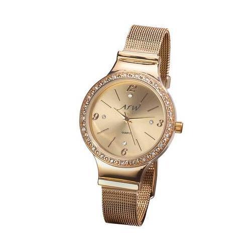 Elegante Armbanduhr mit Kristallen
