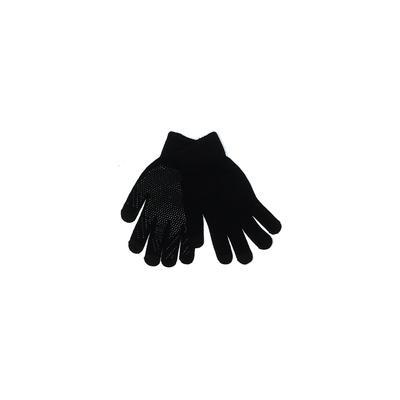 Adara Gloves: Black Solid Access...